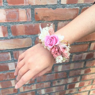 | Elves | Not withered roses. Wrist flower. Romantic floral decoration. Valentine's Day present