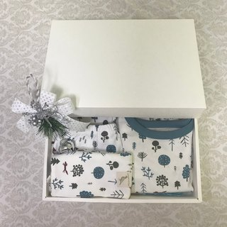 100% organic cotton classic Nordic forest set is listed in the fall and the UK