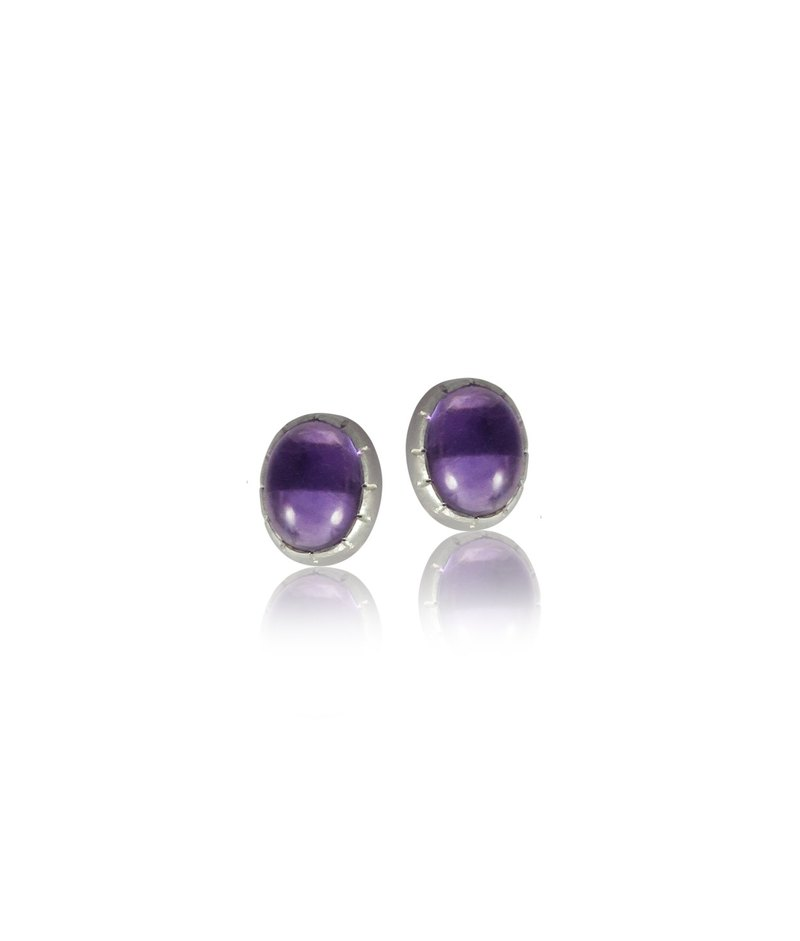 Drop Earring – Amethyst