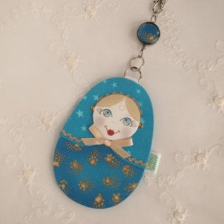 Matryoshka Pass Case · FortuneTellor / blue (MP-064)