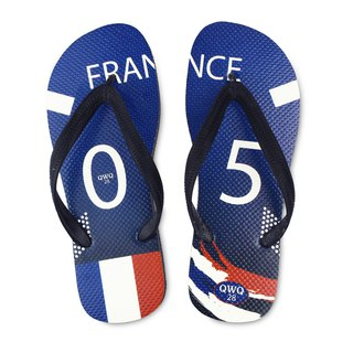 QWQ creative design flip-flops - France - men's [limited]