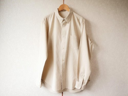 Ethical hemp men's shirt