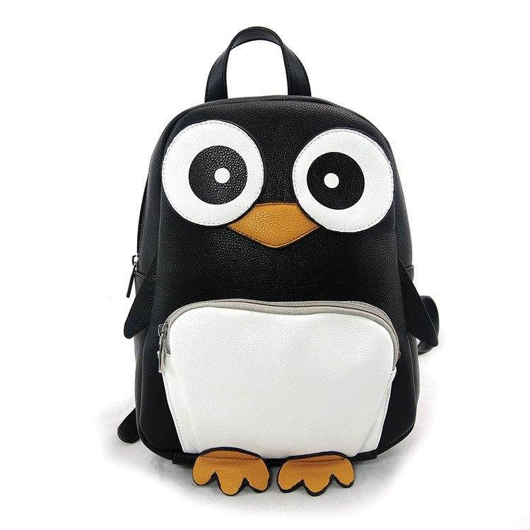 Sleepyville Critters - Wide-Eyed Penguin backpack