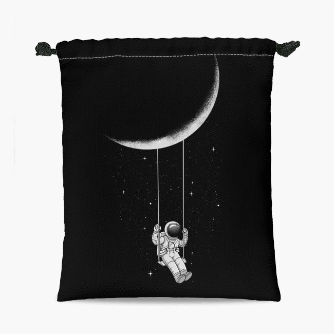 Drawstring Pouch - Bunches - Moon Swing