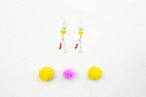Sunbeam Orchestra Stone Earrings 5