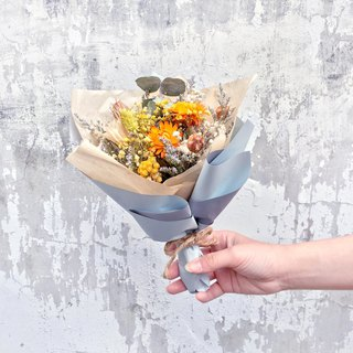 | Spring day agreement | Dry flowers. birthday present. Graduation bouquet. Daily bouquet. Orange