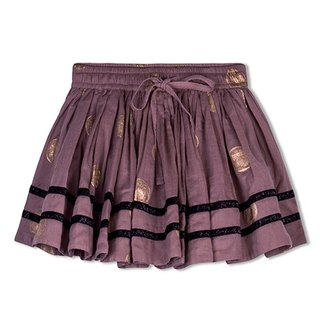Madhvai Skirt in Purple