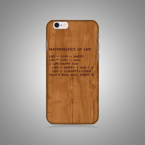 """Shell"" series - the mathematical life of the original phone shell / protective sleeve (hard shell) iPhone / Samsung / HTC / Sony / LG"