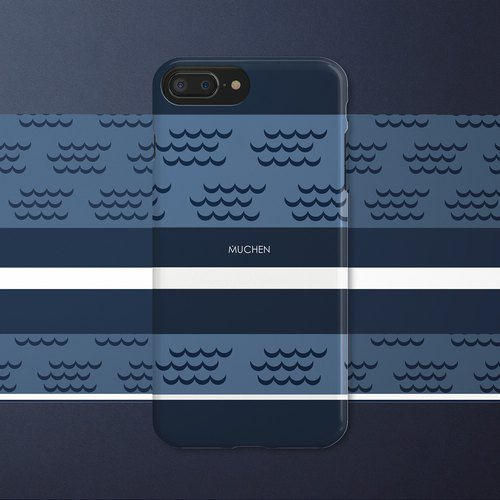 Gentleman Blue (iPhone.Samsung Samsung, HTC, Sony. Asus Case Cover)