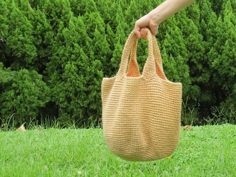 Linen Cotton Bag Carrier Bag