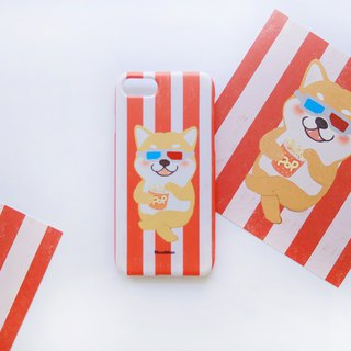 Chai Chai eating watermelon phone case