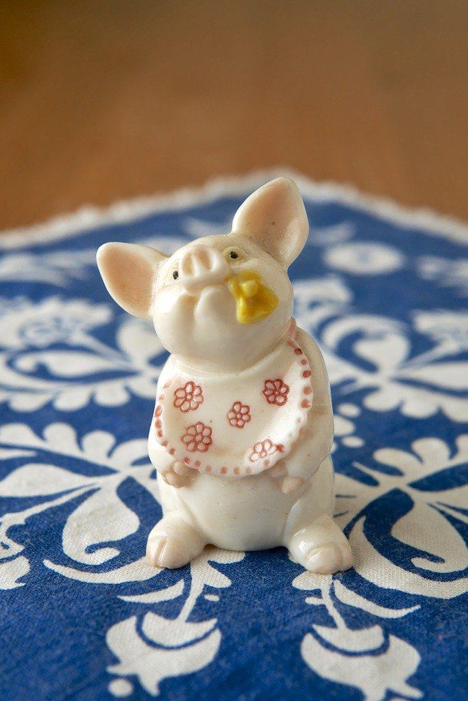 Wee Piggy Ornament