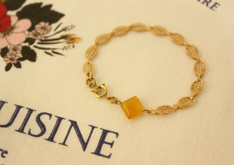 ◆hippie◆ Fasa│Limited-Edition Retro Hollow Brass Bracelet