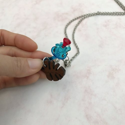 Necklace ∞ a dedicated building blocks of your gems rose