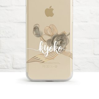 My Perfect Wedding- Clear Soft Phone Case, iPhone X, iphone 8, iPhone 7, iPhone 7 plus, iPhone 6, iPhone SE, Samsung