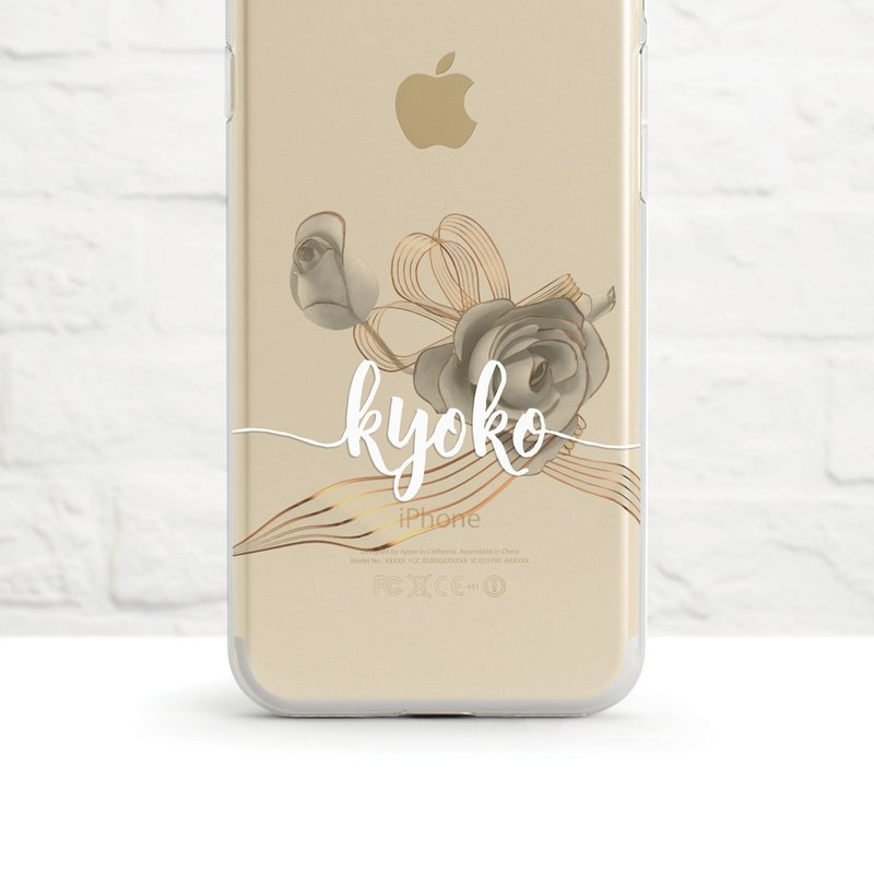 My Perfect Wedding- Clear Soft Phone Case, iPhone Xs Max to iPhone SE/5, Samsung