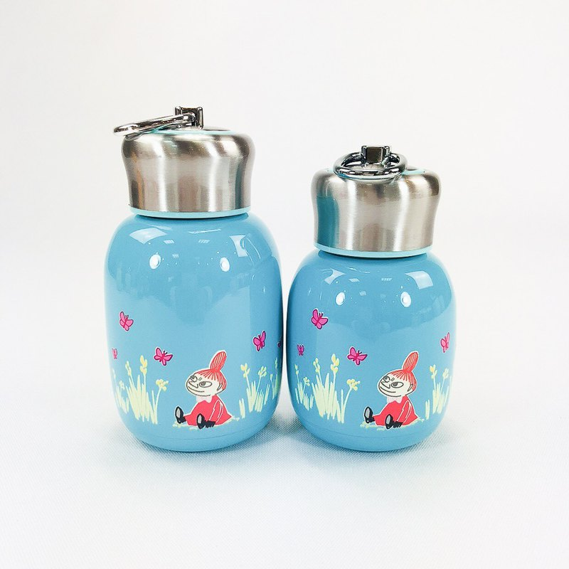 Moomin 噜噜米授权-fashion style mini thermos (blue)