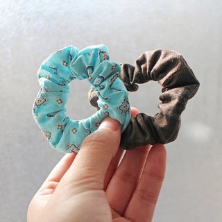 Hand made Mini hair scrunchies - The Bricks and soil