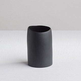 [3, co] wave cup - Black