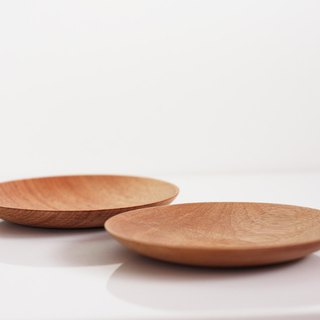 Rood Wood Plate Set
