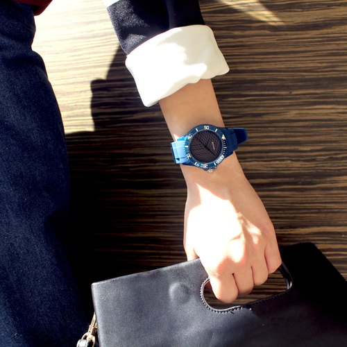 【PICONO】Escape of Numbers Sport Watch - Blue / BA-EN-01
