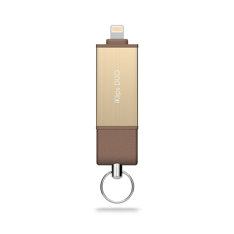 iKlips DUO iOS Pen 128GB Gold