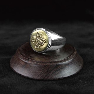 "[METALIZE] ""Standard Storage"" 925 Silver Ring"
