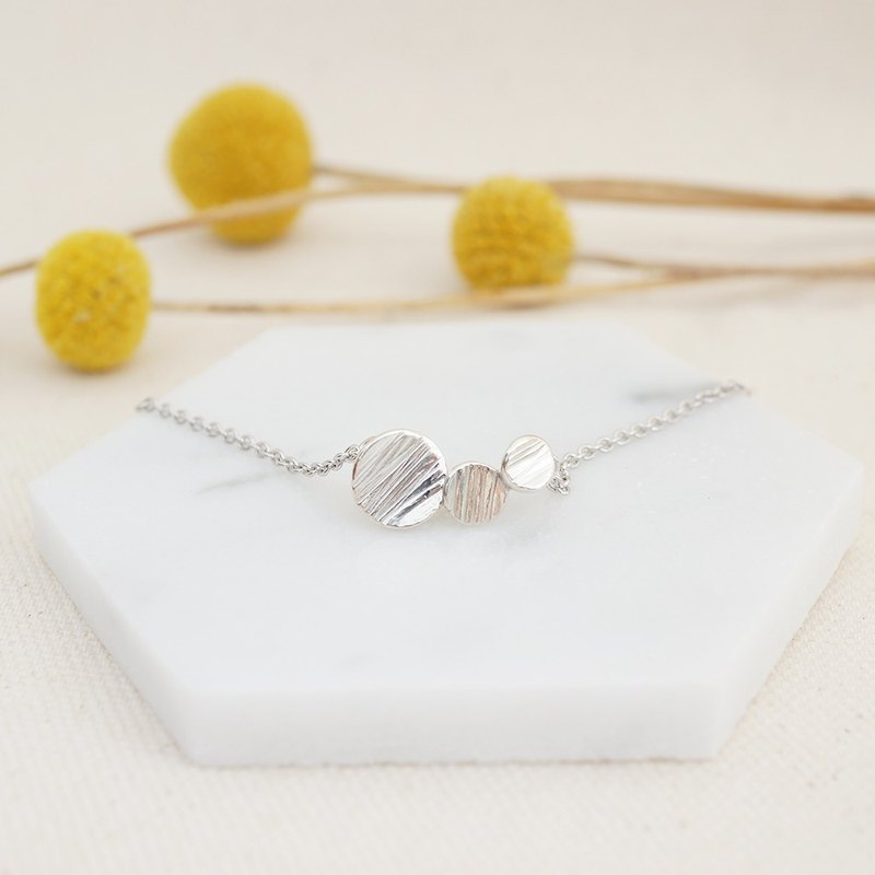 Rain drops Sterling Silver Necklace