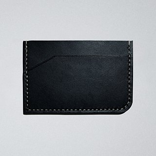 Leather Card Holder (3 colors / engraving service)
