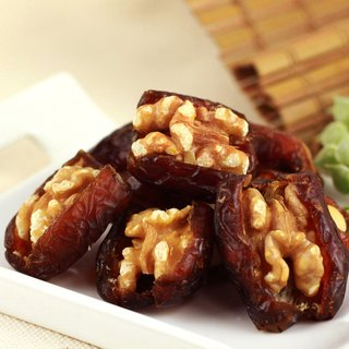 [afternoon snack light] nuts on the date palm - walnut (160g / bag)