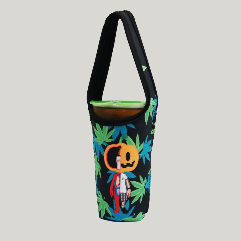 BLR Green Drink Bag PunkPumpkin Ti07 Cannabis Pumpkin MONOCUP