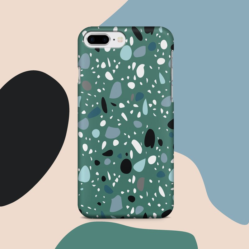 Sicilian pebble - Terrazzo collection - Phone Case