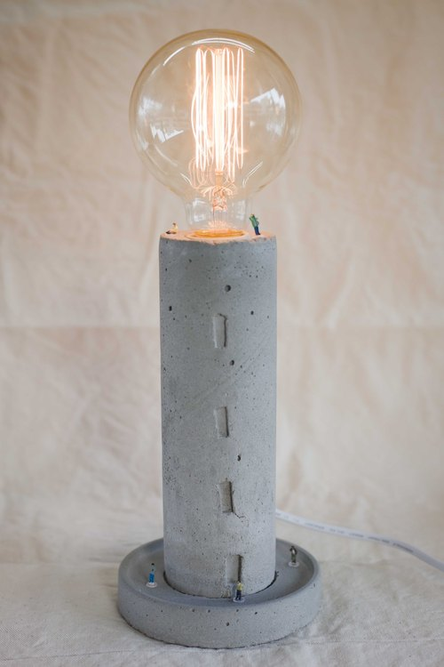 [Rain] Workshop pure hand-made hand-made water mode lamp [building life] containing light bulbs