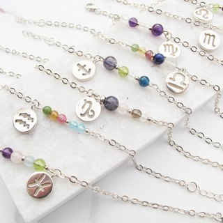 Bigman Taipa [Constellation Lucky Stone Series] Cancer × Handmade Sterling Silver Bracelet