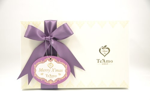 Te'Amo Christmas gift boxes of tea (no tea) & bag