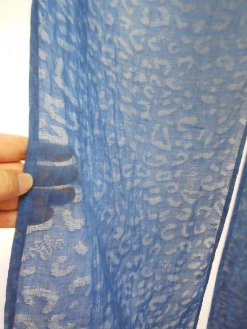 Indigo dye / 100% hemp - Goodwill / Hand dyeing Gradation · Transparent pattern is cool