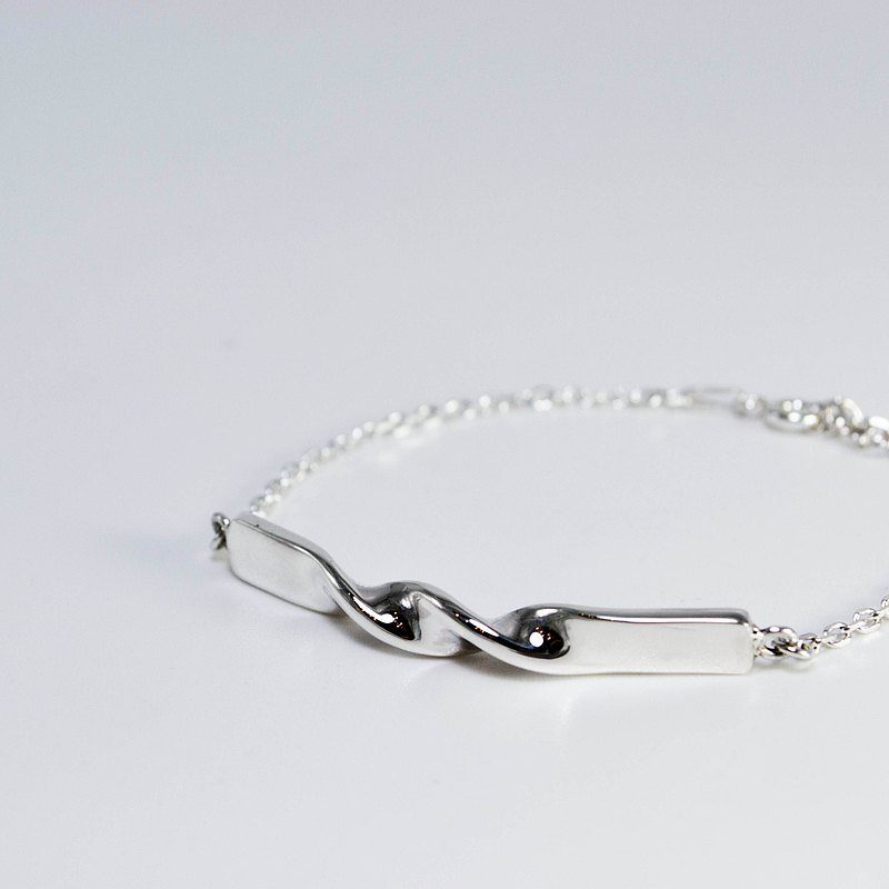 zo.craft twist bracelet / 925 Silver