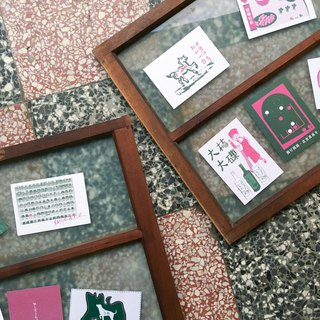 【坜 坜 flavor - a joint universal greeting card】 Everything successful