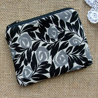 Zipper pouch / coin purse (padded) (ZS-270)