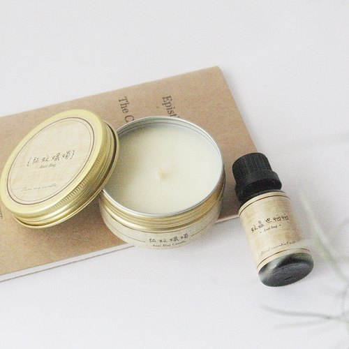 4th Floor Apartment - Natural Herbal Essential Oil - Insect Repellent Candle + Mosquito Repellent Essential Oil - Mosquito Repellent Double Combination