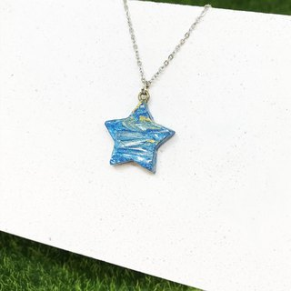 [Color Cloud] - Five Star Necklace