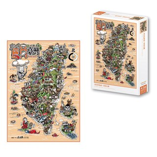 A jigsaw of Taiwan s delicacies