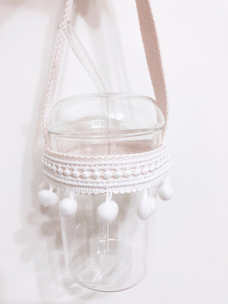 Lace hairball drink bag