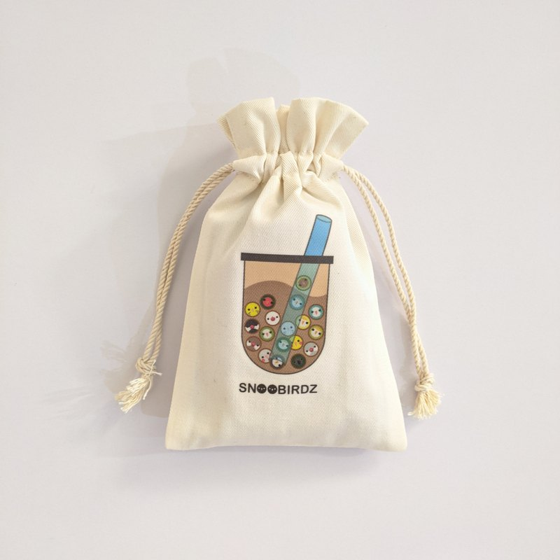 Bird treasure treasure milk / candy bunch pocket / gift small things / Taiwan native products / carry bag / environmental protection