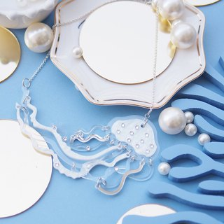 Jelly Fish Statement Necklace