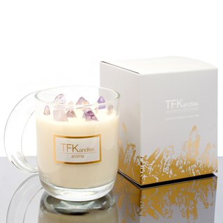 """After the rain"" naturally scented candle L"