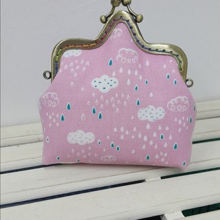Rainbow purse / crown mouth gold package [CB170718]