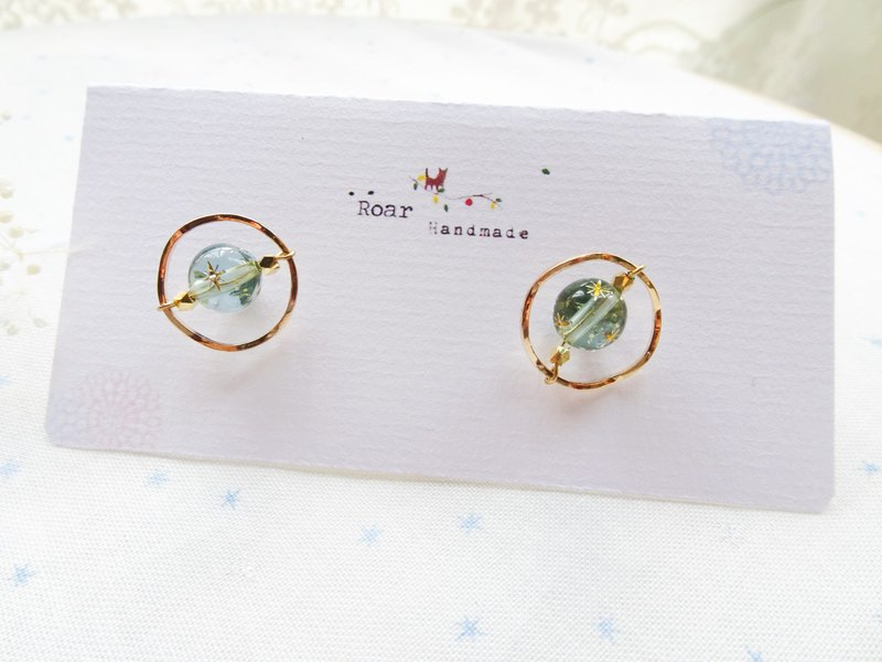 Your planet earrings-pin