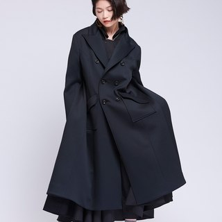[Contactee] back zipper modeling suit coat -2017 autumn and winter limited edition during the new season original women's clothing