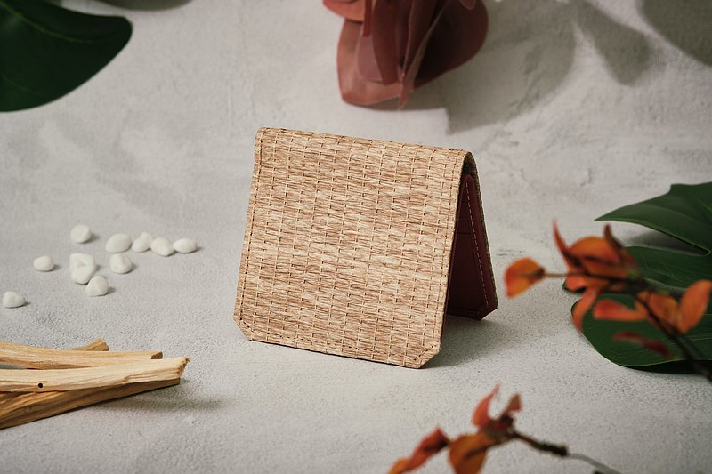 【Paper making possible】 Woven paper series paper wallet
